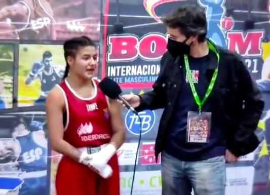Mari Ángeles García, presente y futuro del boxeo español
