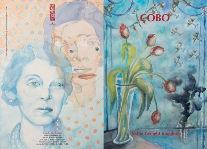 Chema Cobo reúne en una muestra a Gerald Brenan, Gamel Woolsey y sus legados literarios