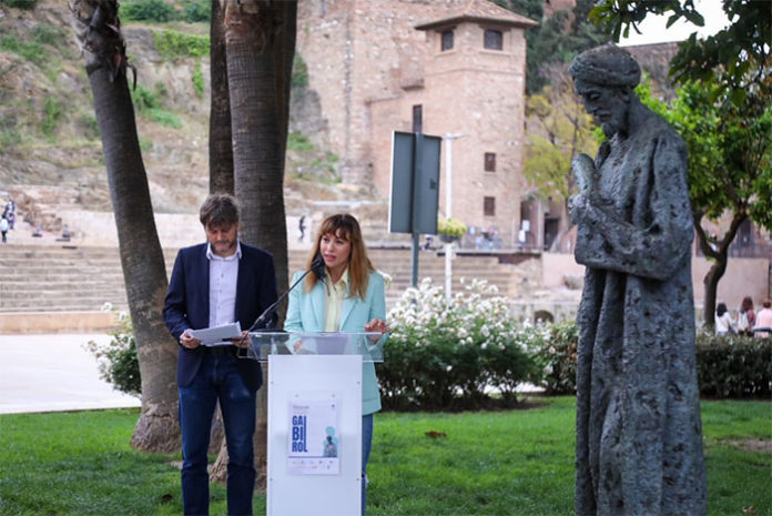 Poemas y flores para la inauguración de las Jornadas Ibn Gabirol en Málaga