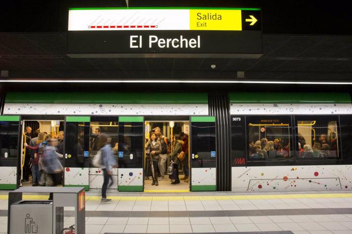Concierto en el Metro de Málaga por el aniversario del General y el Materno Infantil