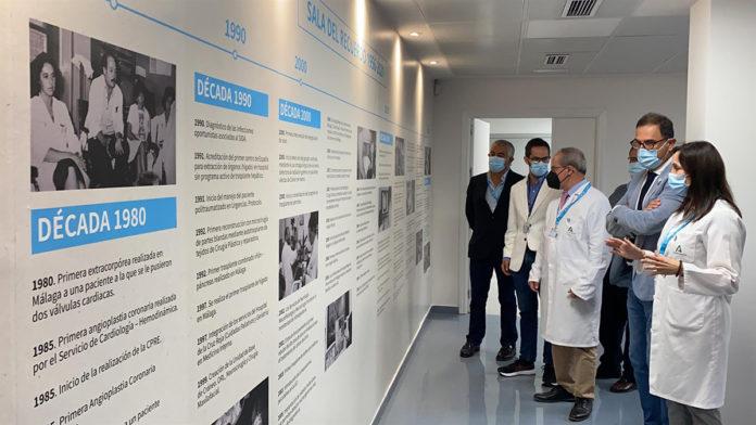 La 'Sala del Recuerdo', un recorrido por los 65 años de Hospital General