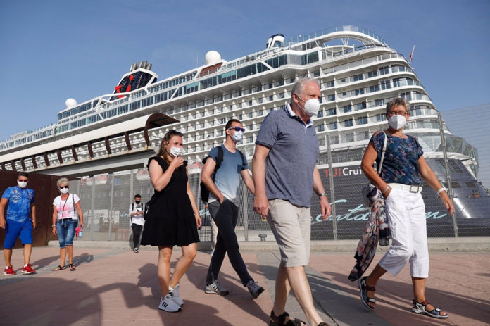 Los cruceristas vuelven a pisar el Puerto de Málaga